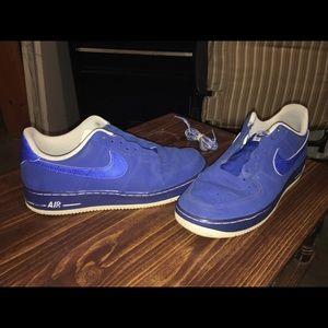 Size 10 Blue Nike Lowtop